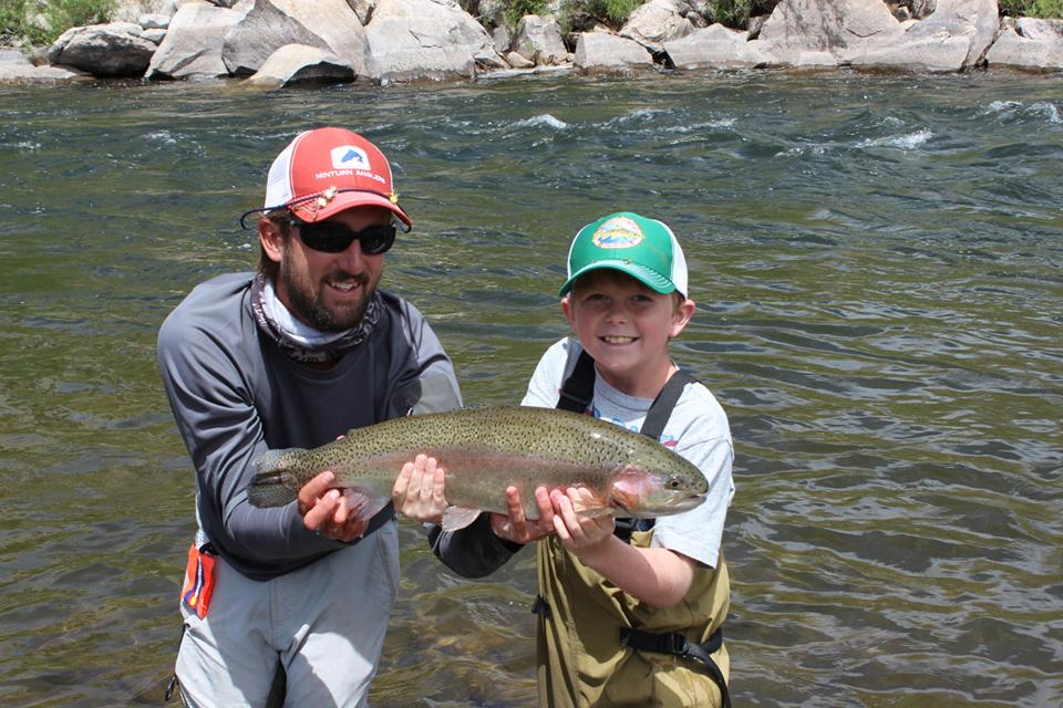 kid's fly fishing camp