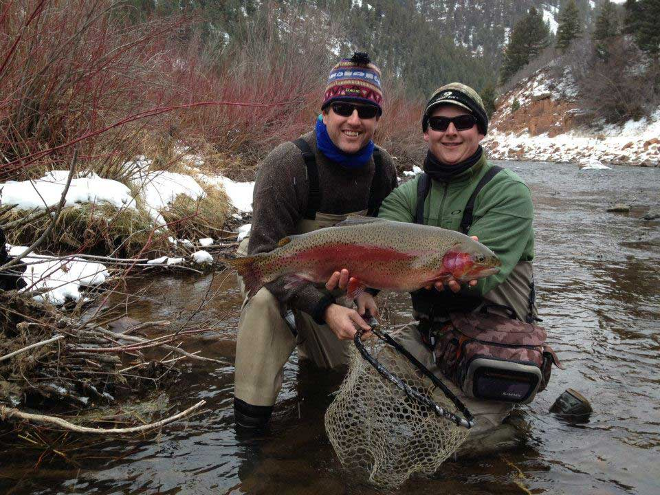 Front range winter wade trips minturn anglers for Colorado fishing guide