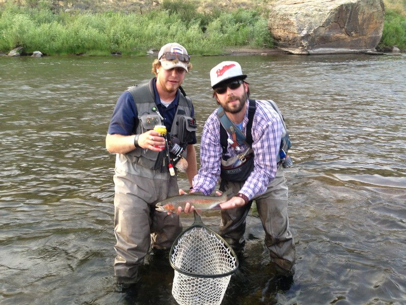 Eagle river fishing report 7 31 13 minturn anglers for How much is a one day fishing license