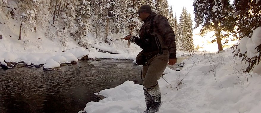 Colorado winter fly fishing guide where to fish what for Colorado fishing guide