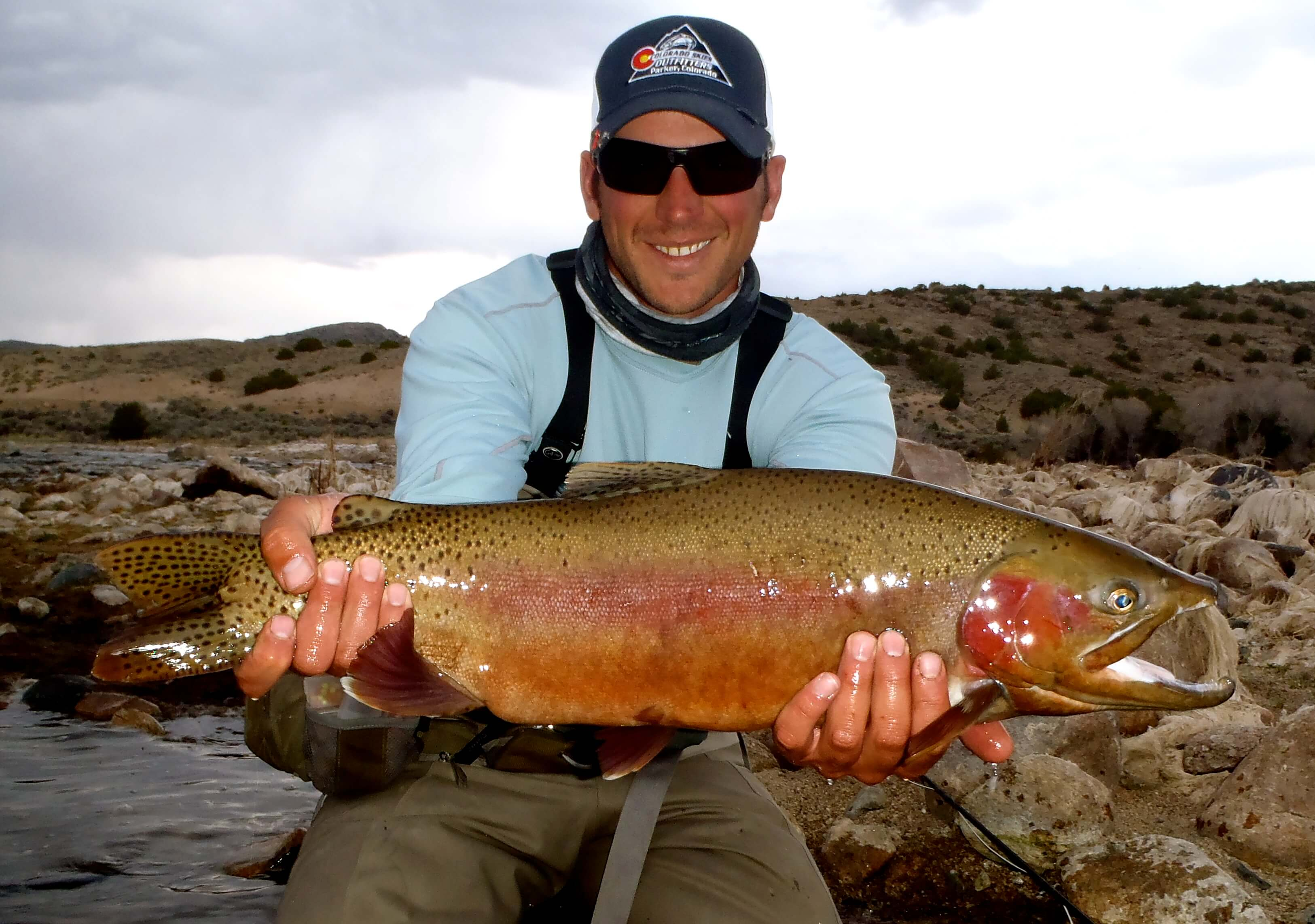 Big n platte spring rainbow minturn anglers for Deckers co fishing report