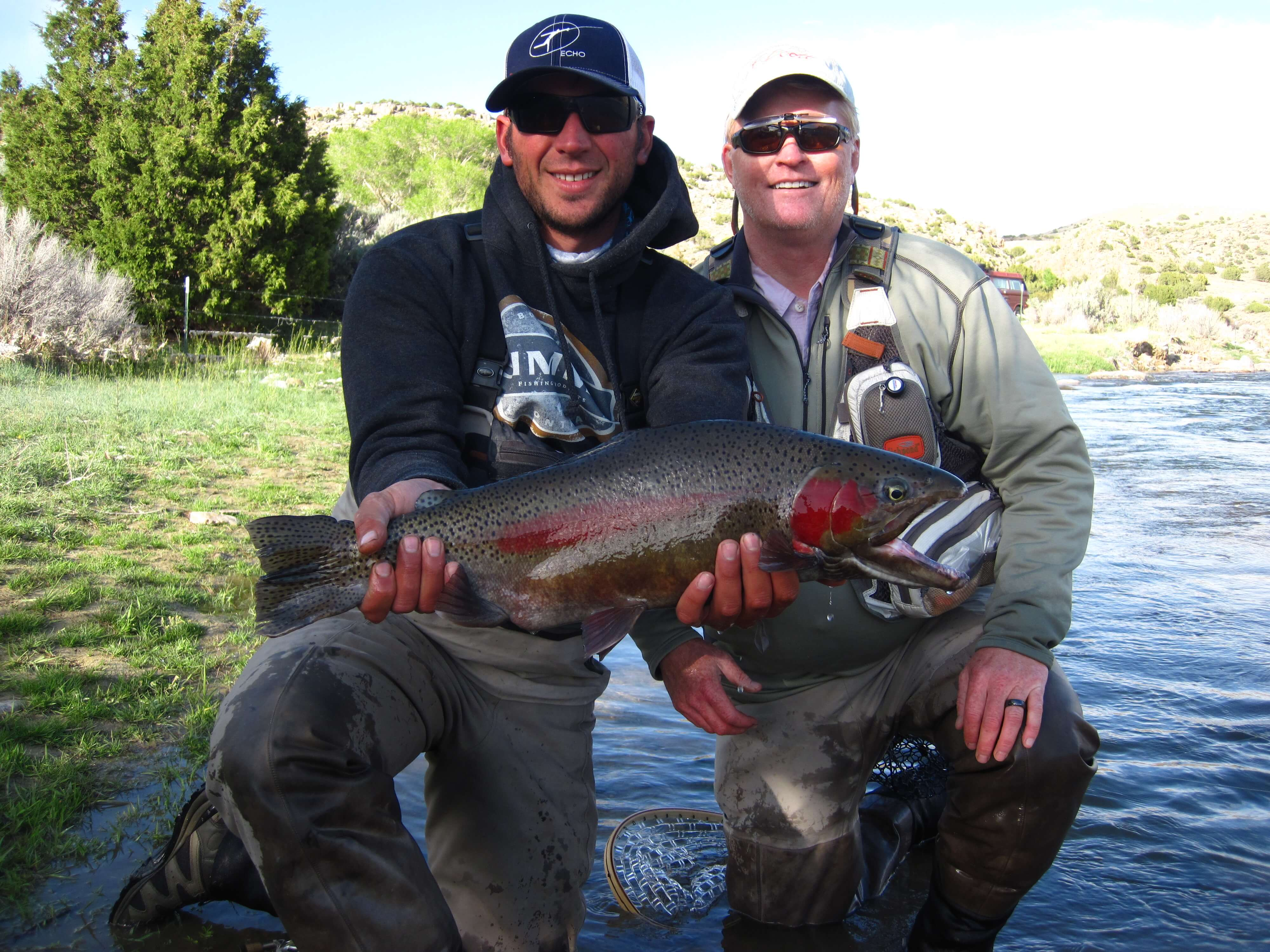 Wyoming fishing camping miracle mile minturn anglers for Miracle mile fishing