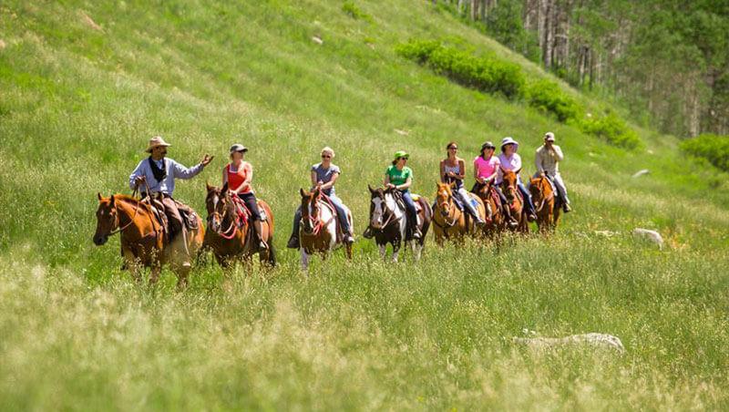 Vail Valley Horseback Trips