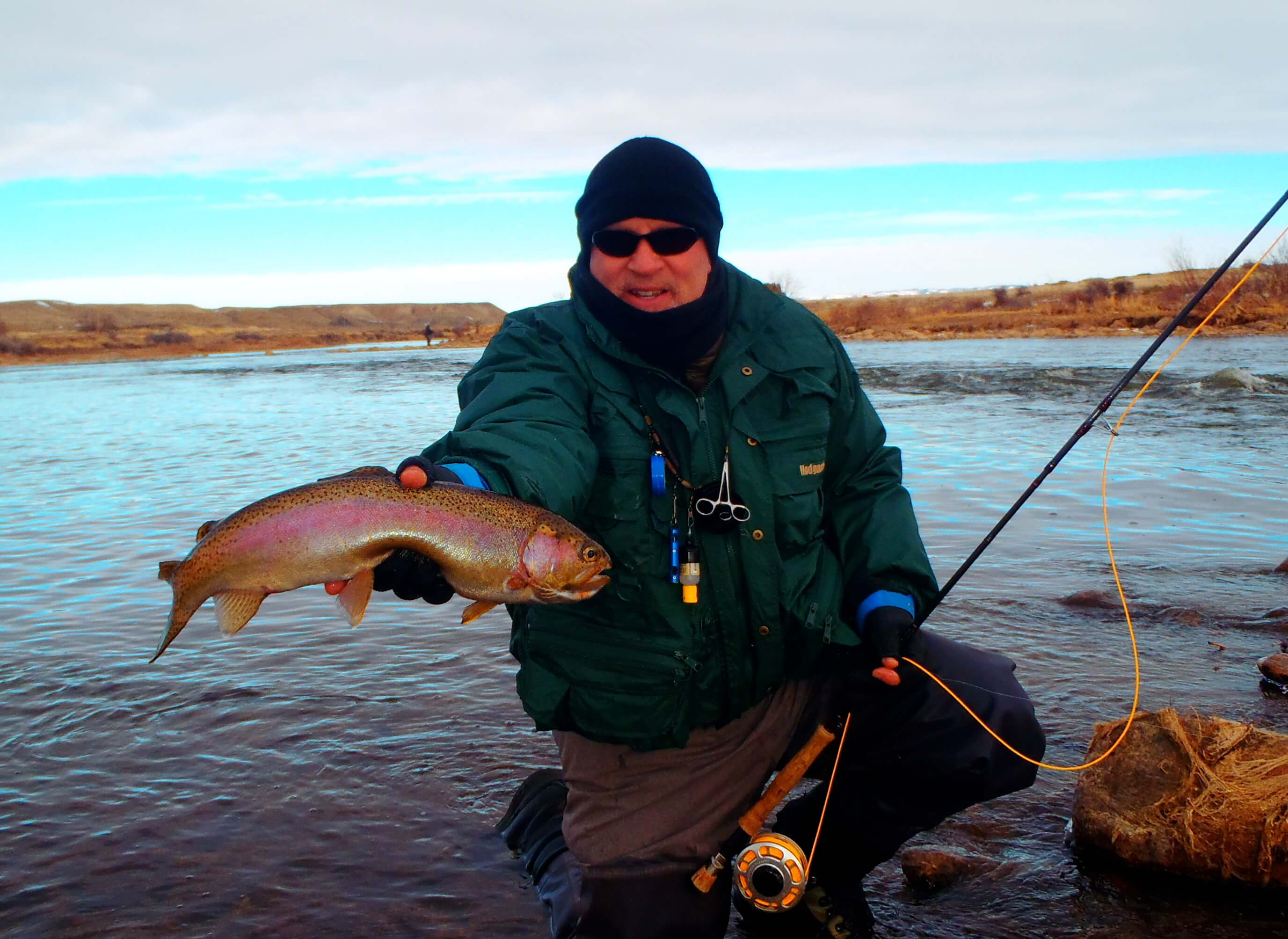 North platte winter fly fishing grey reef miracle mile for Miracle mile fishing report