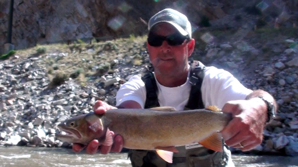 Rainbow miracle mile minturn anglers for Miracle mile fishing report