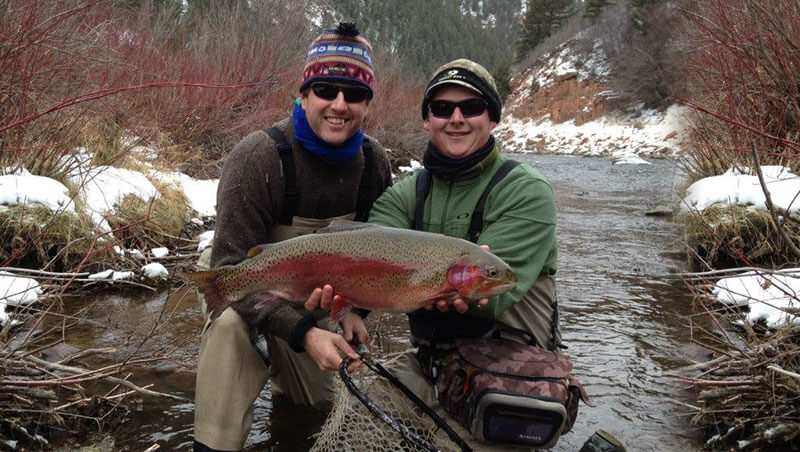 Vail Valley Fly Fishing Winter Trip