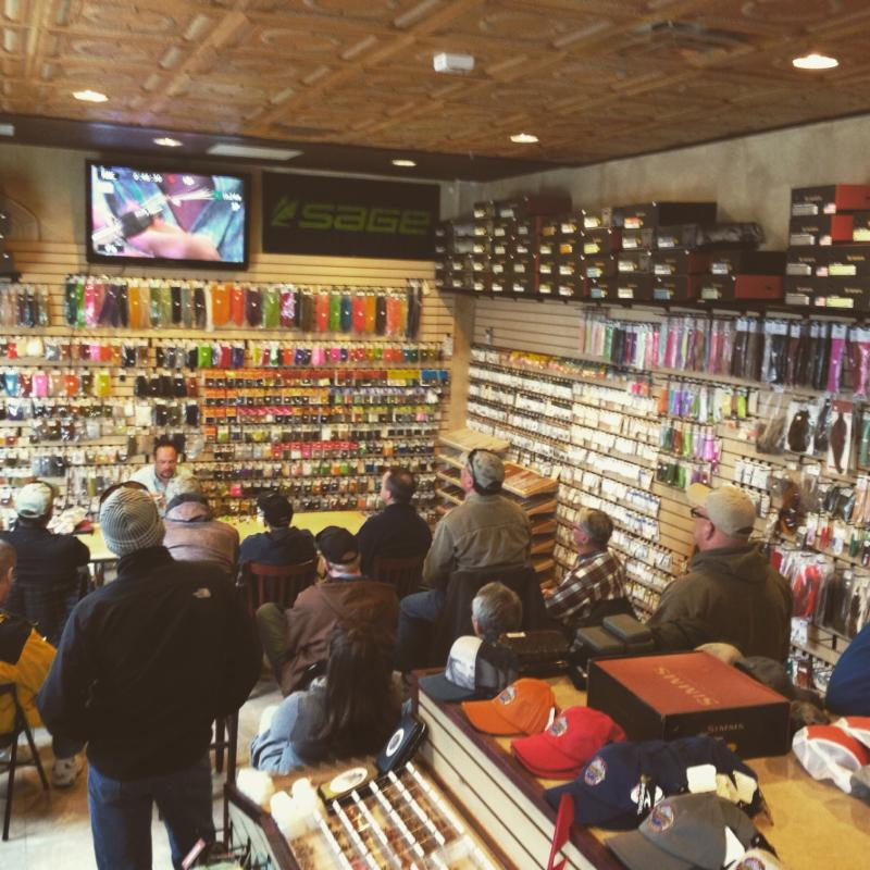 Fly Tying Night at Minturn Anglers'Denver Fly Shop