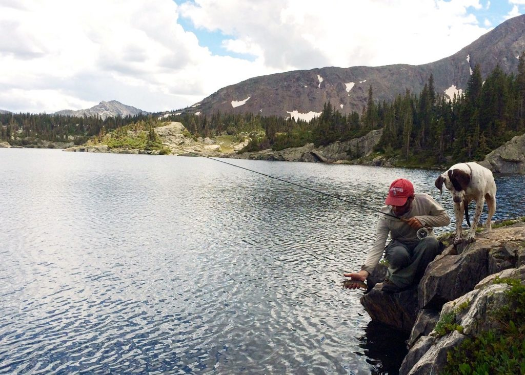 Fly Fishing Alpine Lakes