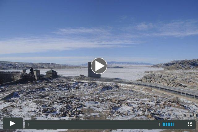 Pathfinder Reservoir Seasonal Changes