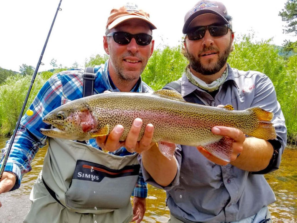 Eagle River Fly Fishing Cjarity is good