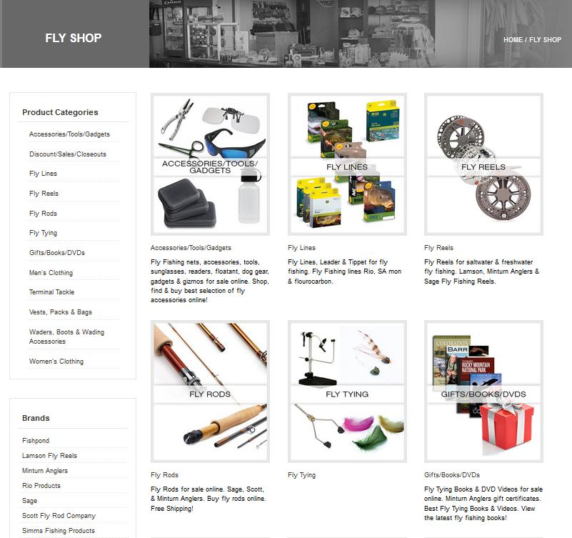 Minturn Anglers online shop