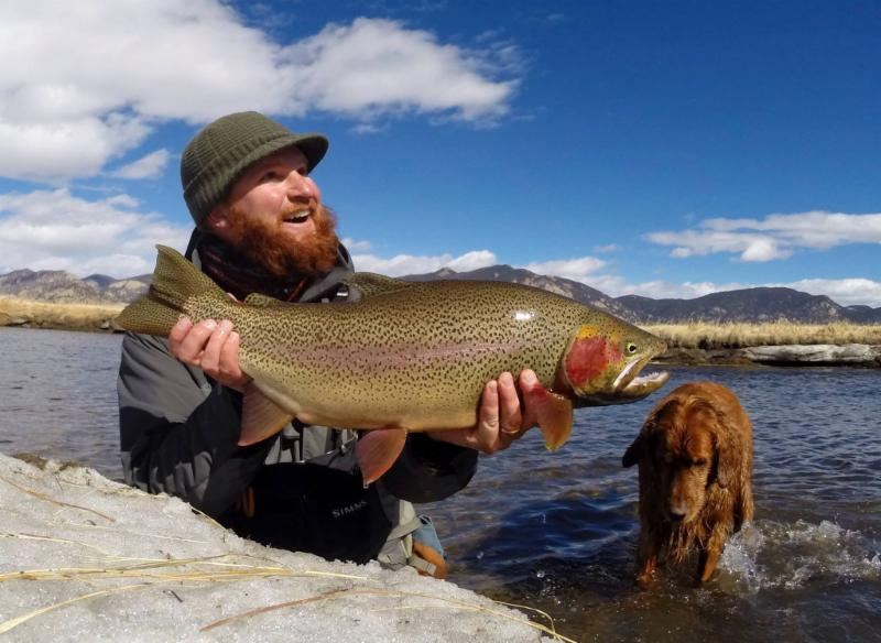 Dream Stream Rainbow - Minturn Angler Guide Service