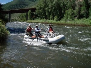 Float trips on the Eagle are a brief treat