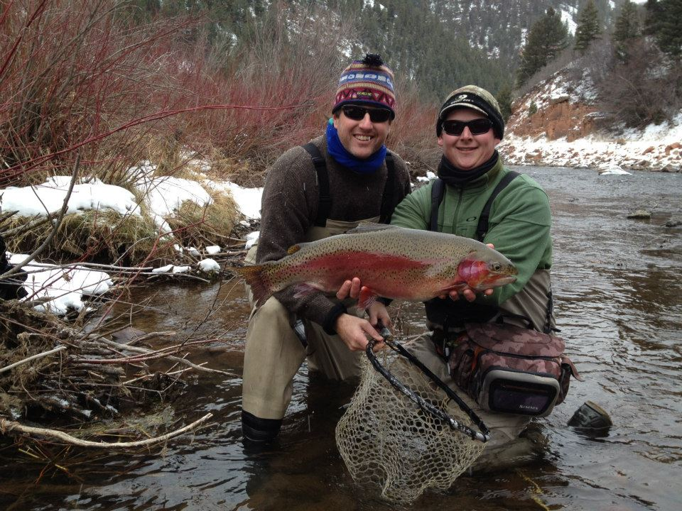 frying-pan-river-winter-fly-fishing near vail valley