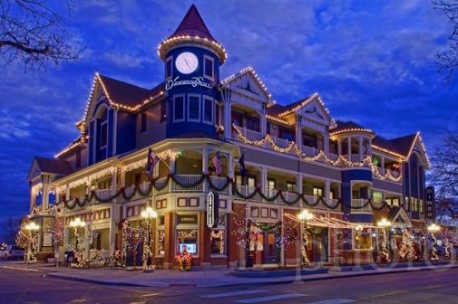 Christmas In Denver Colorado.Lone Tree Denver Colorado Christmas Parade Shopping Event
