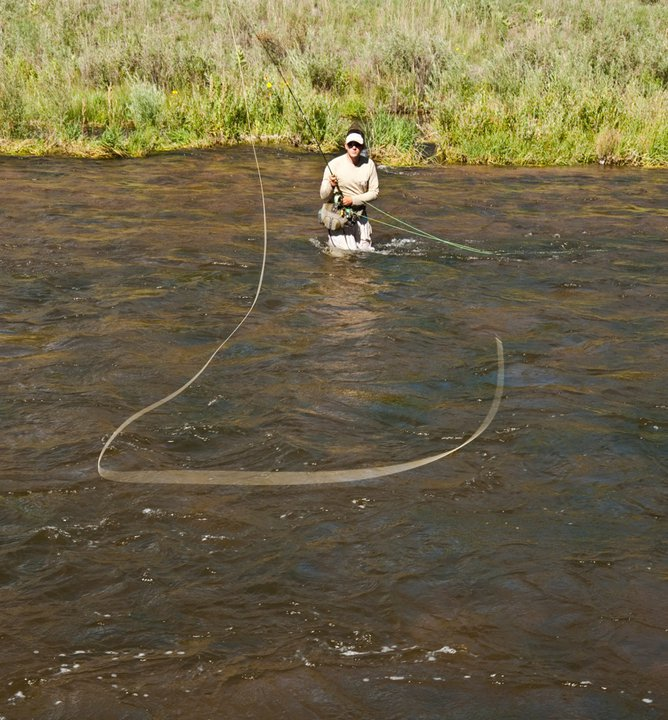 casting in the wind with spey rod - fly fishing on windy days