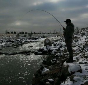 tyler winter fly fishing