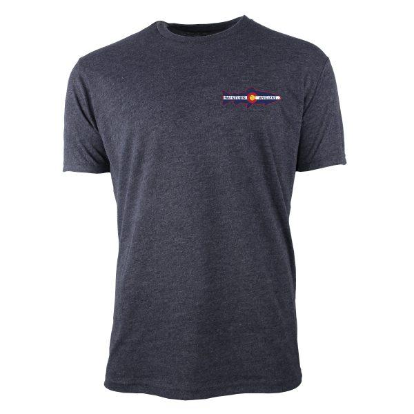 Gray Tee Shirt with Logo